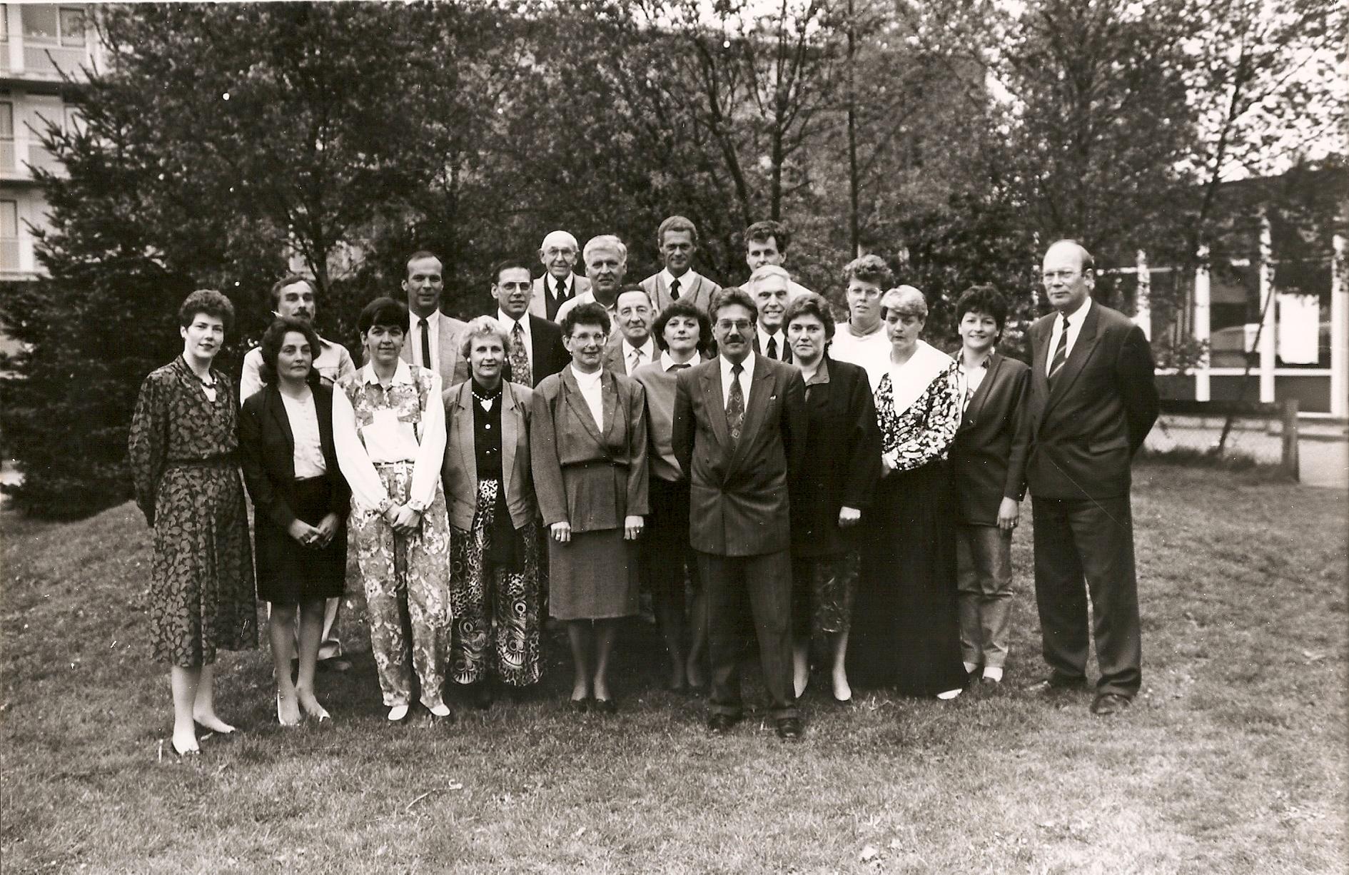 1991 leden met aanhang SOVV